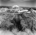 Mount Katmai, aretes and volcanic cone, August 26, 1969 (GLACIERS 7034).jpg