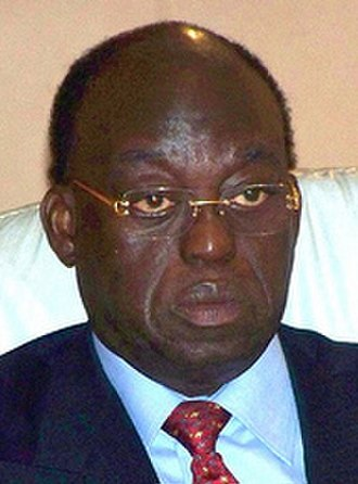 Prime Minister of Senegal - Image: Moustapha Niasse 2009