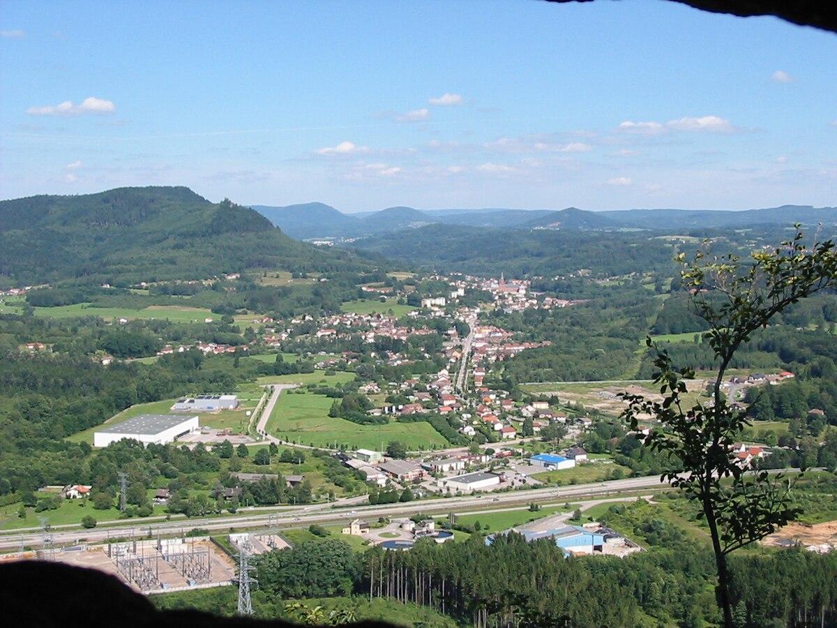 Moyenmoutier wikip dia for Vosges code postal