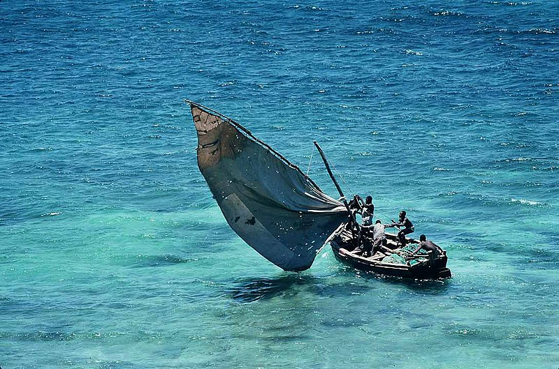 image of Mozambique - traditional sailboat
