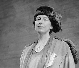 Nora Stanton Barney - Barney in 1921