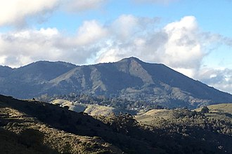 Mount Tamalpais - Mount Tamalpais, viewed from the south