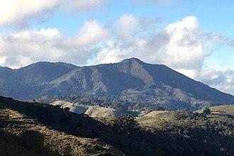 Mount Tamalpais - Mount Tamalpais, viewed from the south