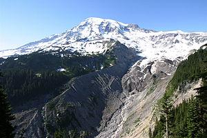 Nisqually River - Image: Mt Rainier Nisqually Glacier