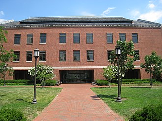 Zanvyl Krieger School of Arts and Sciences - Mudd Hall, part of the JHU Biology Complex
