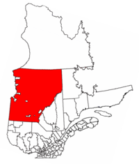 Municipality of Baie-James, Québec.