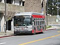 Muni route 54 bus at Daly City station, March 2018.JPG