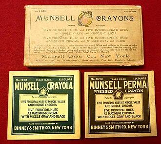 Crayola - Image: Munsell Crayons