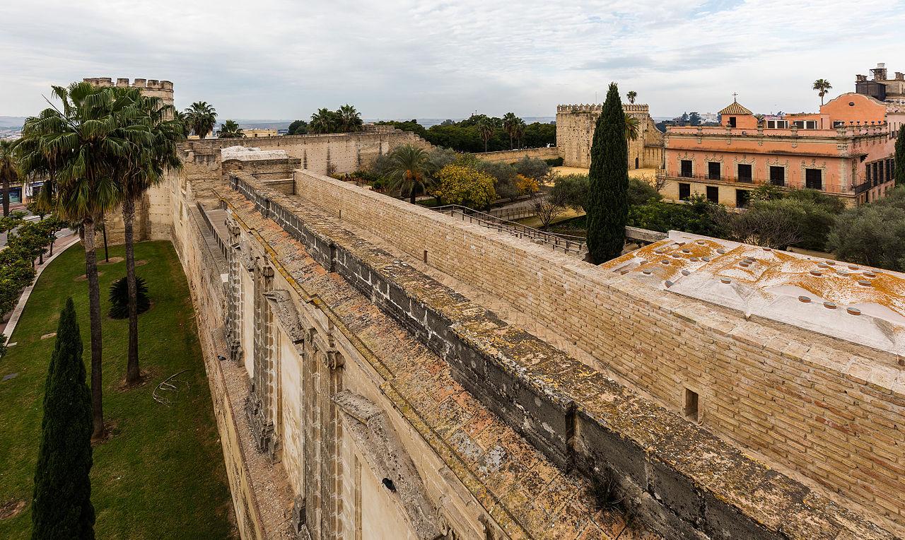 File muro del alc zar jerez de la frontera espa a 2015 for En jerez de la frontera