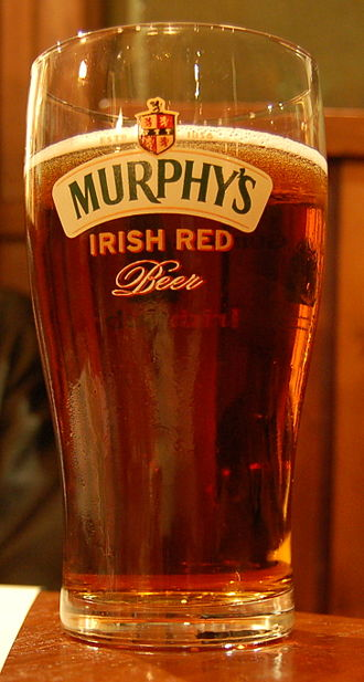 Murphy's Brewery - A glass of Murphy's Irish Red