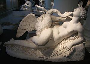 Auguste Clésinger - Leda and the swan, musée de Picardie, Amiens