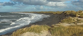 Chemistry of wetland dredging - Coastal land