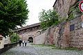 Nürnberg, Stadtmauer, Neutormauer am Palas der Burg, 002.jpg