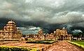 N-KA-D212 N-KA-D218 N-KA-D220 Pattadakal Group Temples Entry Path in Cloudy Background.jpg
