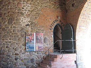 Neubrandenburg Regional Museum - Museum entrance