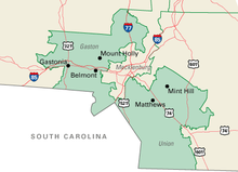 North Carolinas Th Congressional District Wikipedia - Us nc congress district 9 current map