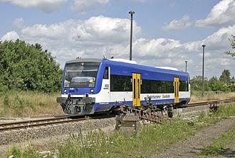 Niederbarnimer Eisenbahn - A Regio Shuttle operated by NEB.