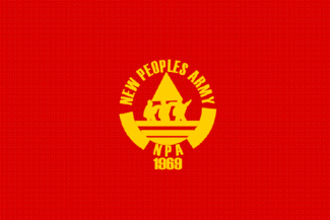 New People's Army - One of the NPA's older flags