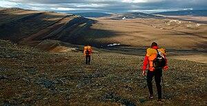 National Petroleum Reserve–Alaska - Syncline ridges in southwestern NPRA.