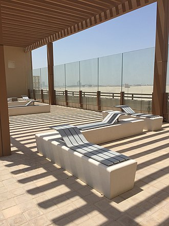 New York University Abu Dhabi - Image: NYU Abu Dhabi Highline