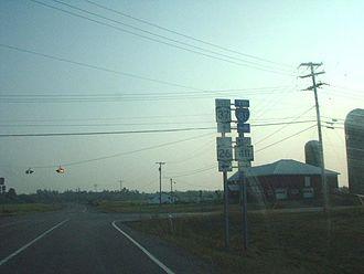 New York State Route 26 - NY 26, NY 411 and NY 37 in Theresa