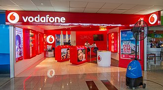 Vodafone - Vodafone shop at Nadi Airport, Fiji