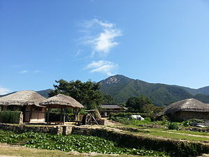 North Jeolla Province - Nagan Eupseong Folk Village in Suncheon