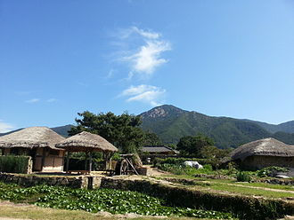 South Jeolla Province - Nagan Eupseong Folk Village in Suncheon