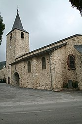 The church in Nages
