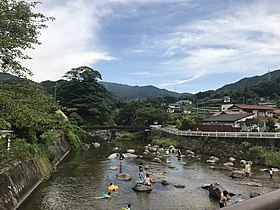 Nakagawa River from Shironohashi Bridge (south) 2.jpg