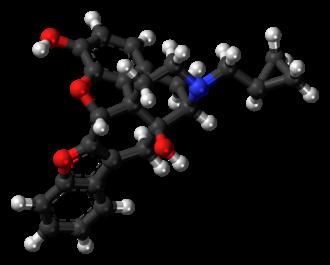 Naltriben - Image: Naltriben molecule ball