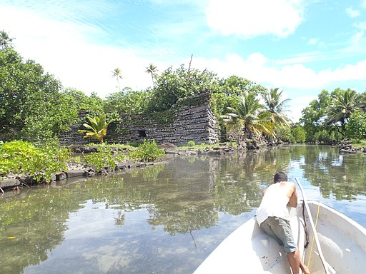 Nan Madol megalithic site, Pohnpei (Federated States of Micronesia)