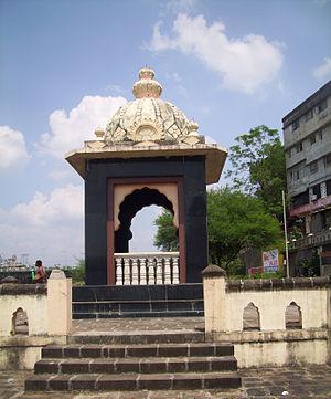 Balaji Baji Rao - The samadhi of Peshwa Nana Saheb