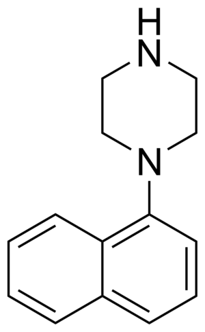 Naphthylpiperazine