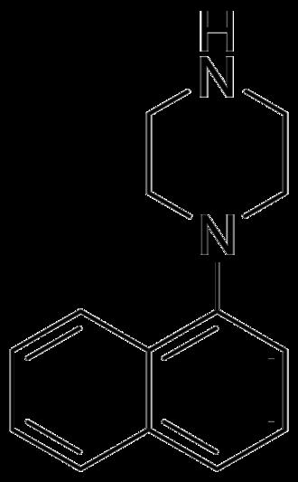 Naphthylpiperazine - Image: Naphthylpiperazine