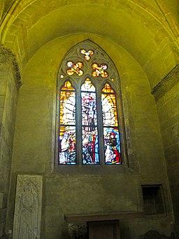 Napoli - Finestrone Chiesa di Santa Chiara