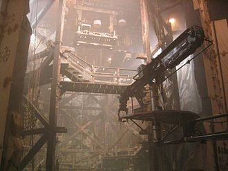 National Treasure (film) - Film set for the underground chambers beneath Trinity Church