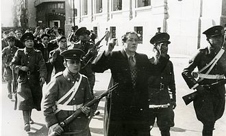 Latin America during World War II - Image: Nazi insurrection chile