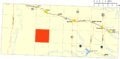Nebo Township, Bowman County, North Dakota.png