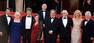Nebraska (film) - Payne and the cast at the 2013 Cannes Film Festival.