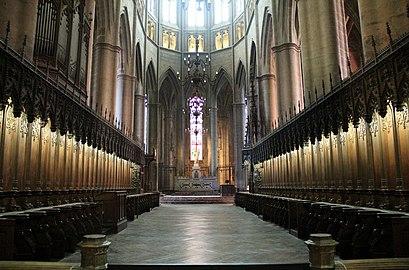 Cath 233 Drale Notre Dame De Rodez Wikip 233 Dia