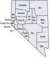 Nevada map showing counties.png
