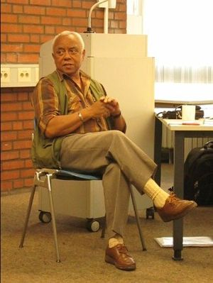 Neville Alexander - Alexander at the World Conference of African Linguistics in Cologne, 18 September 2009