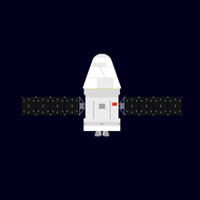 diagram of the next generation crewed spacecraft