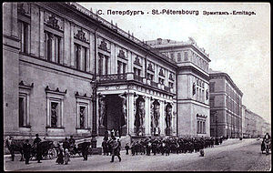 Leo von Klenze - The New Hermitage, St. Petersburg, Russia, was one of the first museums designed specifically to house art collections.