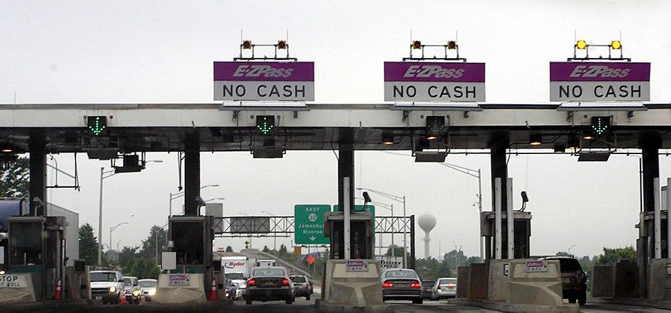 New Jersey Turnpike toll gate