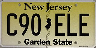 Vehicle registration plates of New Jersey New Jersey vehicle license plates