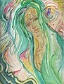 New Orleans Whitney Waller Sketch Woman with Green Hair Oldersketchbook1 2001.jpg
