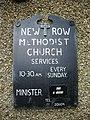 New Row Methodist Church, Sign - geograph.org.uk - 990738.jpg