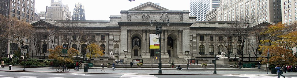 New York Public Library - Panorama 21112004